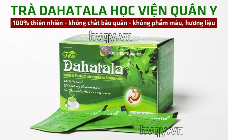 Trà thảo dược Dahatala hỗ trợ dạ dày tá tràng