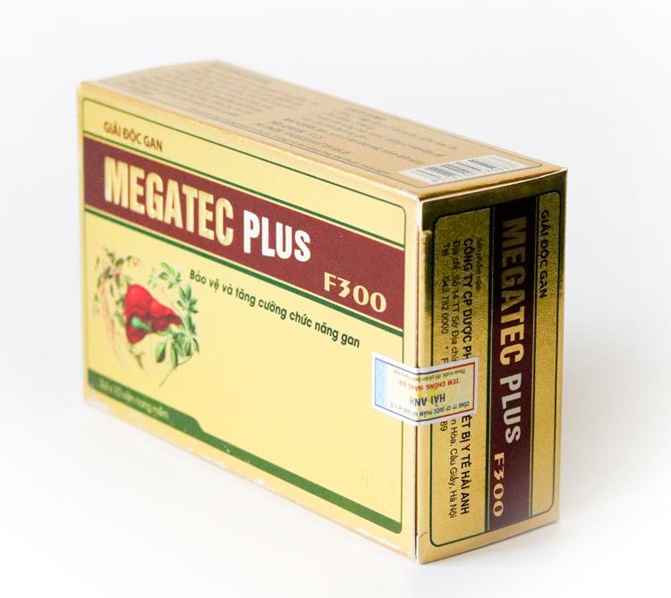 Bổ gan Megatec Plus Học Viện Quân Y hộp 30 viên