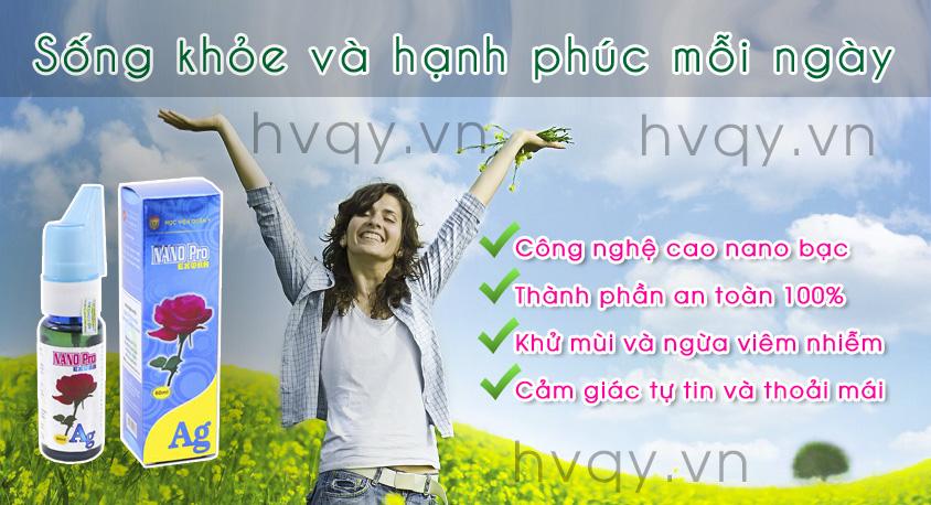 Dung dịch vệ sinh phụ nữ NanoPro Extra HVQY ở Bạc Liệu