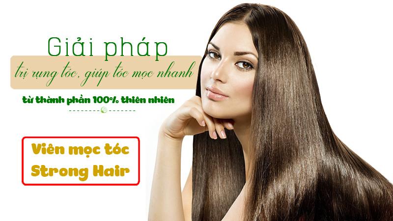 Giải pháp trị rụng tóc từ Strong Hair thiên nhiên