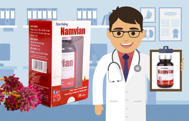 Tâm Thống Namvian tăng cường sức khỏe tim mạch